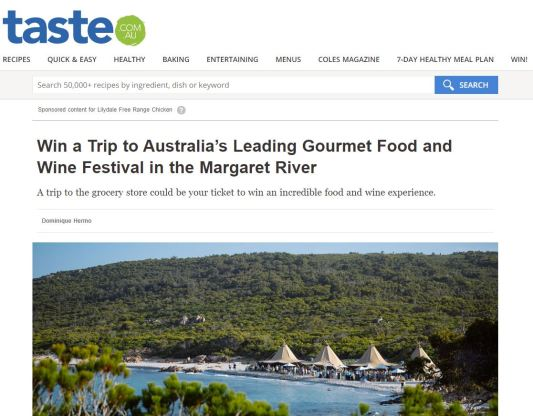 2020-01-08 08_58_04-Win a Trip to Australia's Leading Gourmet Food and Wine Festival in the Margaret